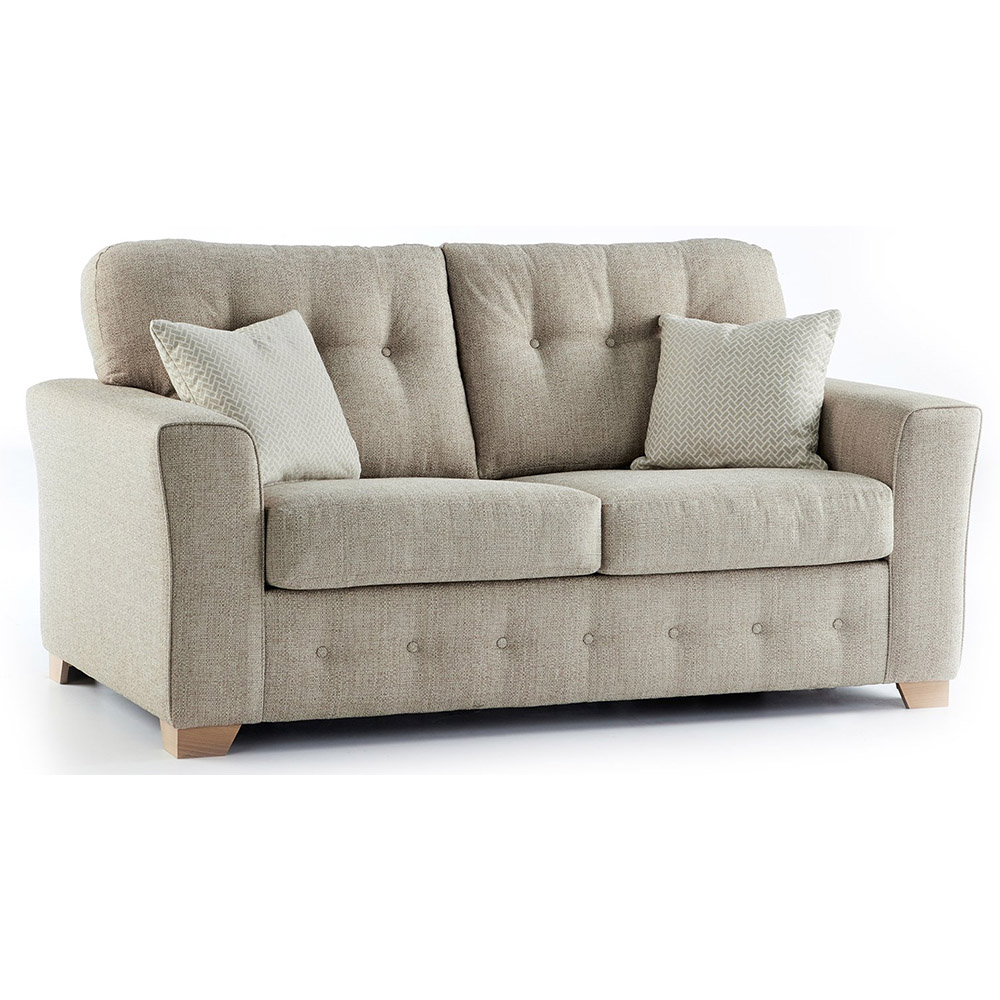 Plumstead Fabric 2 Seater Sofa in Beige
