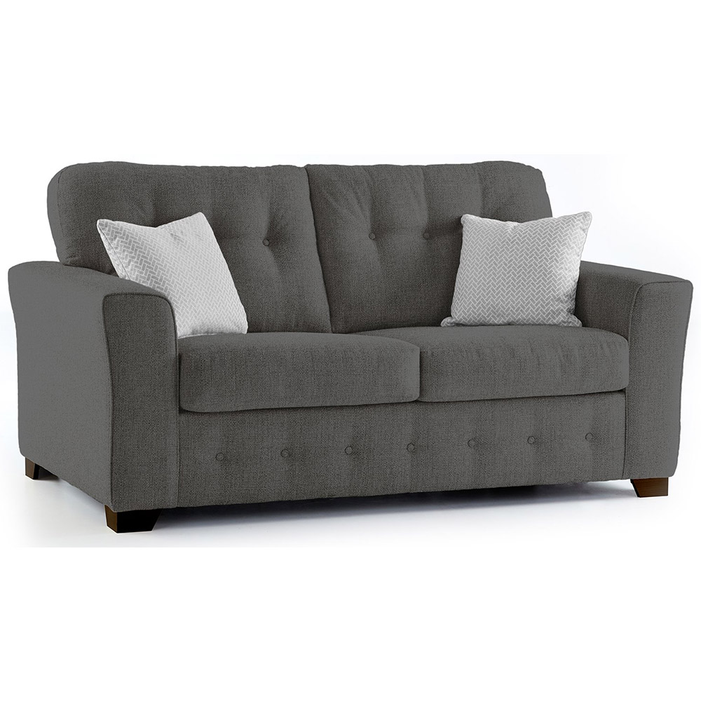 Plumstead Fabric 2 Seater Sofa in Grey
