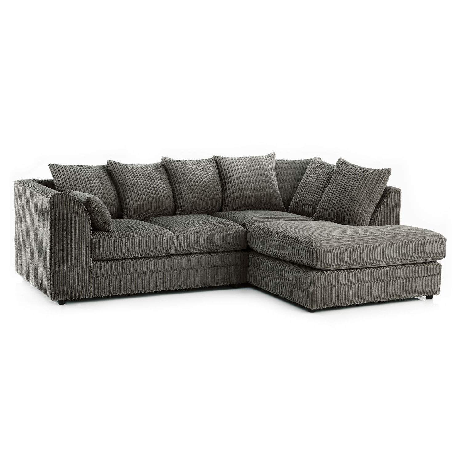Chicago Jumbo Cord Right Hand Corner Sofa