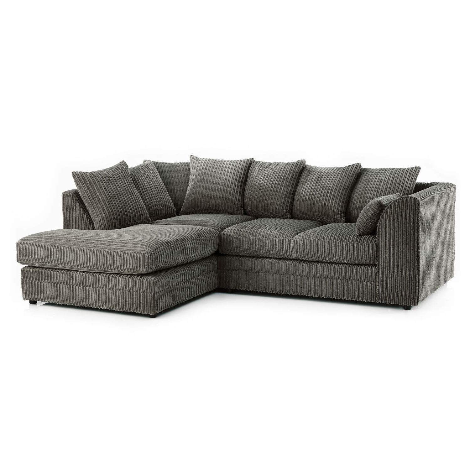 What Does Right Hand Corner Sofa Mean: Chicago Jumbo Cord Left Hand Corner Sofa